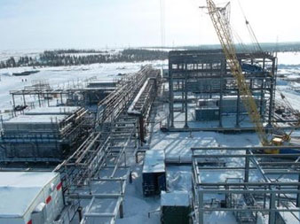 "Renovation ""Usinskoye GPZ"" Gas processing plant"